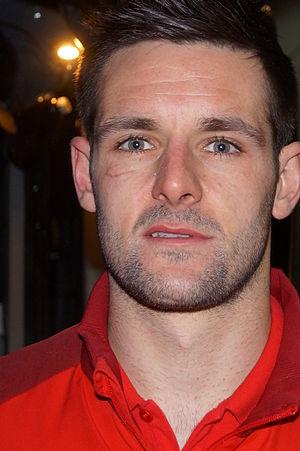 Scott Dann - Dann with Blackburn Rovers in 2013