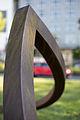 Sculpture Kreisstellung Alf Lechner Koenigsworther Platz Hanover Germany 02.jpg