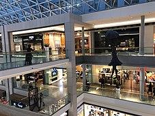 Sculptures in Eurovea shopping center