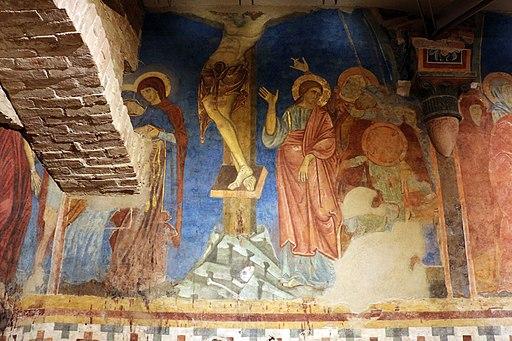 Scuola senese, Crocifissione, 1280 circa