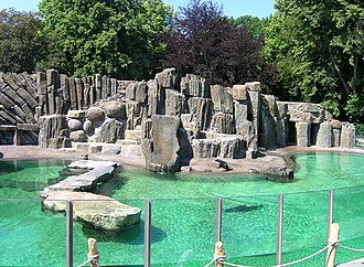 Prague Zoo - Image: Seal's exposition 2, Prague zoo