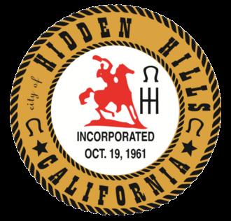 Hidden Hills, California - Image: Seal of Hidden Hills, California