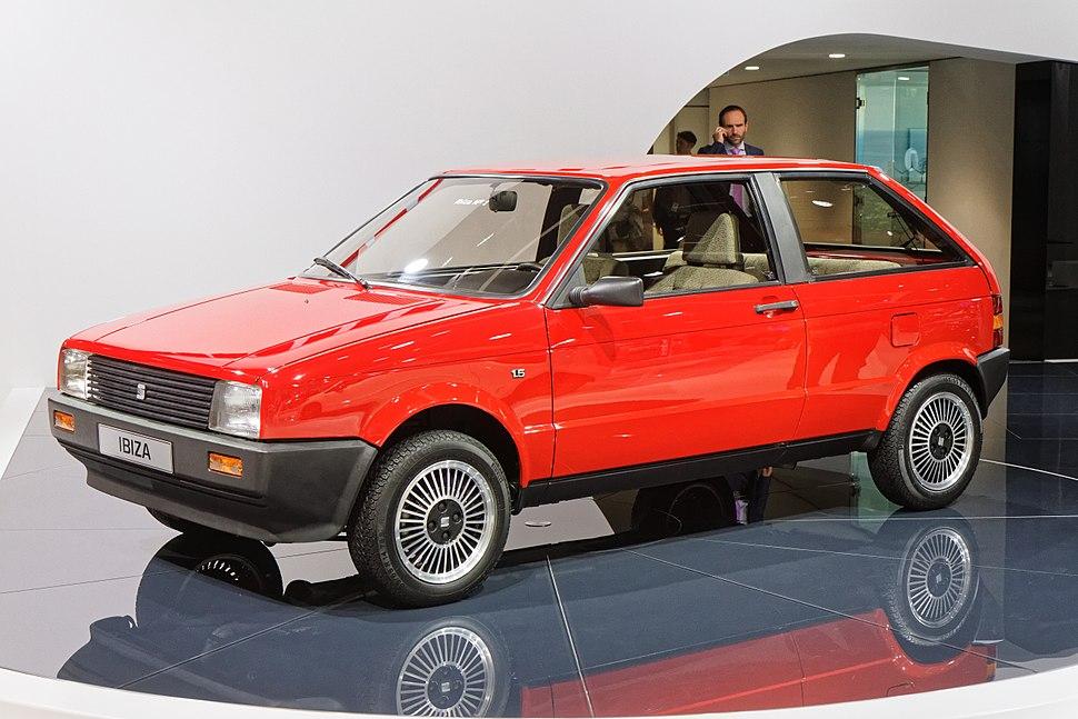 Seat Ibiza première génération - Mondial de l'Automobile de Paris 2014 - 004