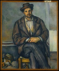Paul Cézanne: Seated Peasant