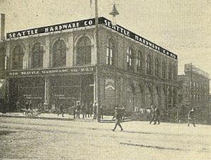 Colman Building - A portion of the original Colman Building c.1900