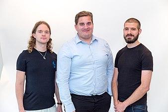 Sebastian Berlin, John Andersson and André Costa.jpg