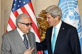 Secretary Kerry Meets With UN Special Representative Brahimi (12950337914).jpg