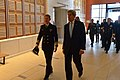 Secretary Kerry Walks With Vice Admiral Carter Before Delivering Remarks at the U.S. Naval Academy in Annapolis (31858092850).jpg