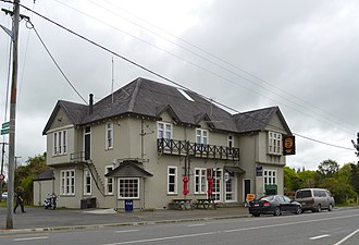 Sefton, New Zealand - Anglers Arms Tavern in Sefton
