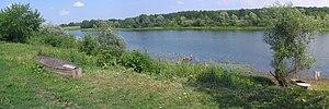 Seym River - Seym in Kursk Oblast