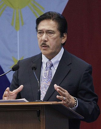 President of the Senate of the Philippines - Image: Sen. Pres Vicente Sotto (cropped)