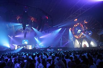 Trance music - Sensation White at Amsterdam Arena 2006