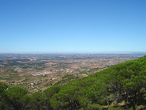 Bombarral - The view from the Serra de Monte Junto, overlooking Bombarral