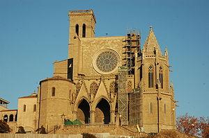 Santa Maria, Manresa - Basilica of Santa Maria.