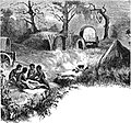 Seven Years in South Africa, page 354, camp in the Leshumo Valley.jpg