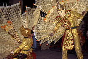 Burmese dance - Shan kinnara and kinnari dance