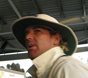 Shane Warne. At the WACA gound on 15/10/2006 P...
