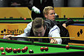 Shaun Murphy and Ben Woollaston at Snooker German Masters (DerHexer) 2013-01-30 01.jpg
