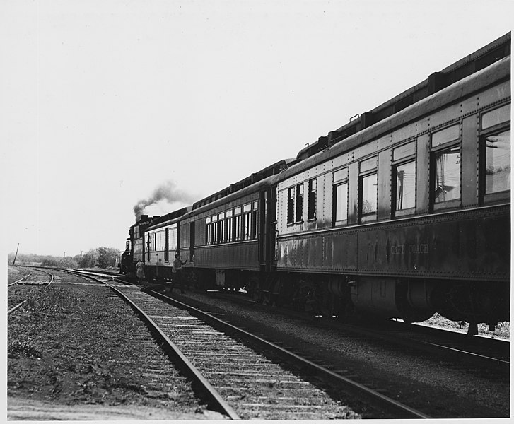 File:Shelby County, Iowa. Several trains a day stop at the ...
