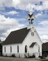 Sheldon Jackson Memorial Chapel, built in 1874, now a part of South Park County Presbyterian Church property in Fairplay, Colorado LCCN2015633684.tif