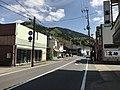 Shimane Prefectural Road No.13 in Morimura, Tsuwano, Kanoashi, Shimane 1.jpg