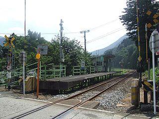 Shimoyuino Station Railway station in Ōno, Fukui Prefecture, Japan