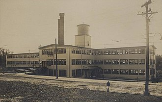 Springvale, Maine - Image: Shoe Factory, Springvale, ME
