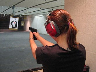 Shooting range - Indoor pistol shooting range
