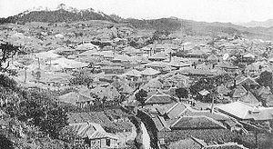 Shuri, Okinawa - Shuri in Taishō period
