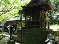Side view of Shichifuku Shrine (No.1 of Okunomiya 8 Shrines) in Miyajidake Shrine.JPG
