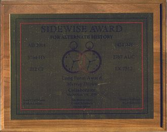 Sidewise Award for Alternate History - Sidewise Award for Murray Davies's novel Collaborator
