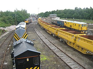 Network Rail - Sidings near Tonbridge Railway Station (1) - geograph.org.uk - 1344835