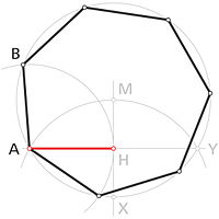 Heptagonum regulare