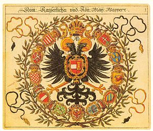 Siebmachers Wappenbuch - Emblem of the Holy Roman Emperor