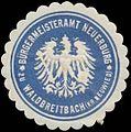 Siegelmarke Bürgermeisteramt Neuerburg zu Waldbreitbach W0333307.jpg