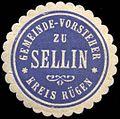 Siegelmarke Gemeinde - Vorsteher zu Sellin - Kreis Rügen W0210115.jpg