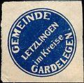 Siegelmarke Gemeinde Letzlingen im Kreise Gardelegen W0240324.jpg