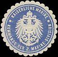 Siegelmarke K. Marine Kommando der 2. Marine-Division W0370806.jpg