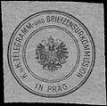 Siegelmarke K.u.K. Telegramm- und Briefzensurkommission in Prag (Zensur-Post) W0383414.jpg