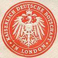 Siegelmarke Kaiserlich Deutsche Botschaft - London W0223741.jpg