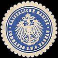Siegelmarke Kaiserliche Marine - Kommando der S.M.S. Nassau W0262545.jpg