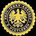 Siegelmarke Prov. - Irren - Anstalt zu Nietleben W0221757.jpg