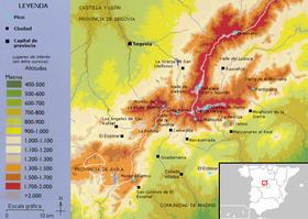 Sierra de Guadarrama  Wikipedia la enciclopedia libre
