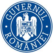 Sigla guvernului României versiunea 2016 cu coroană.png