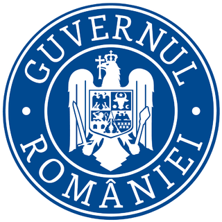 forms one half of the executive branch of the government of Romania