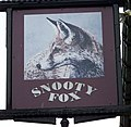 Sign for the Snooty Fox - geograph.org.uk - 1808739.jpg