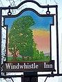 Sign for the Windwhistle Inn - geograph.org.uk - 1114952.jpg