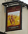 Sign of the Blazing Rag - geograph.org.uk - 1440141.jpg