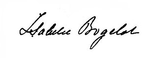 Isabelle Bogelot - Image: Signature of Isabelle Bogelot