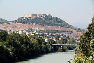 Göksu river in Turkey
